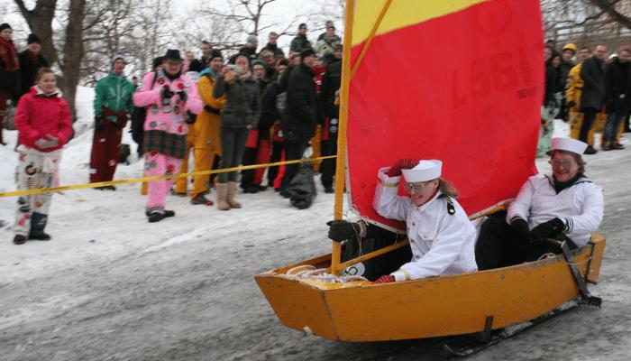 Jääpursi Amanda – kertomus optimisjollan kohtalosta talvella