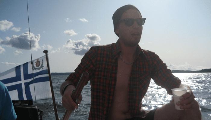 Amatööri purjehtimassa – Cabin boy muistelee