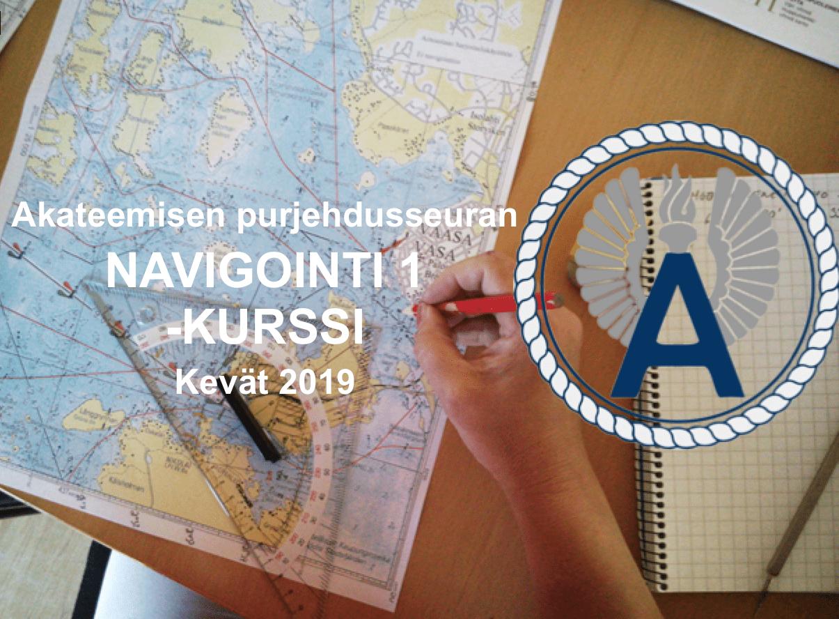 Navigointi 1 -kurssi 22.1. lähtien