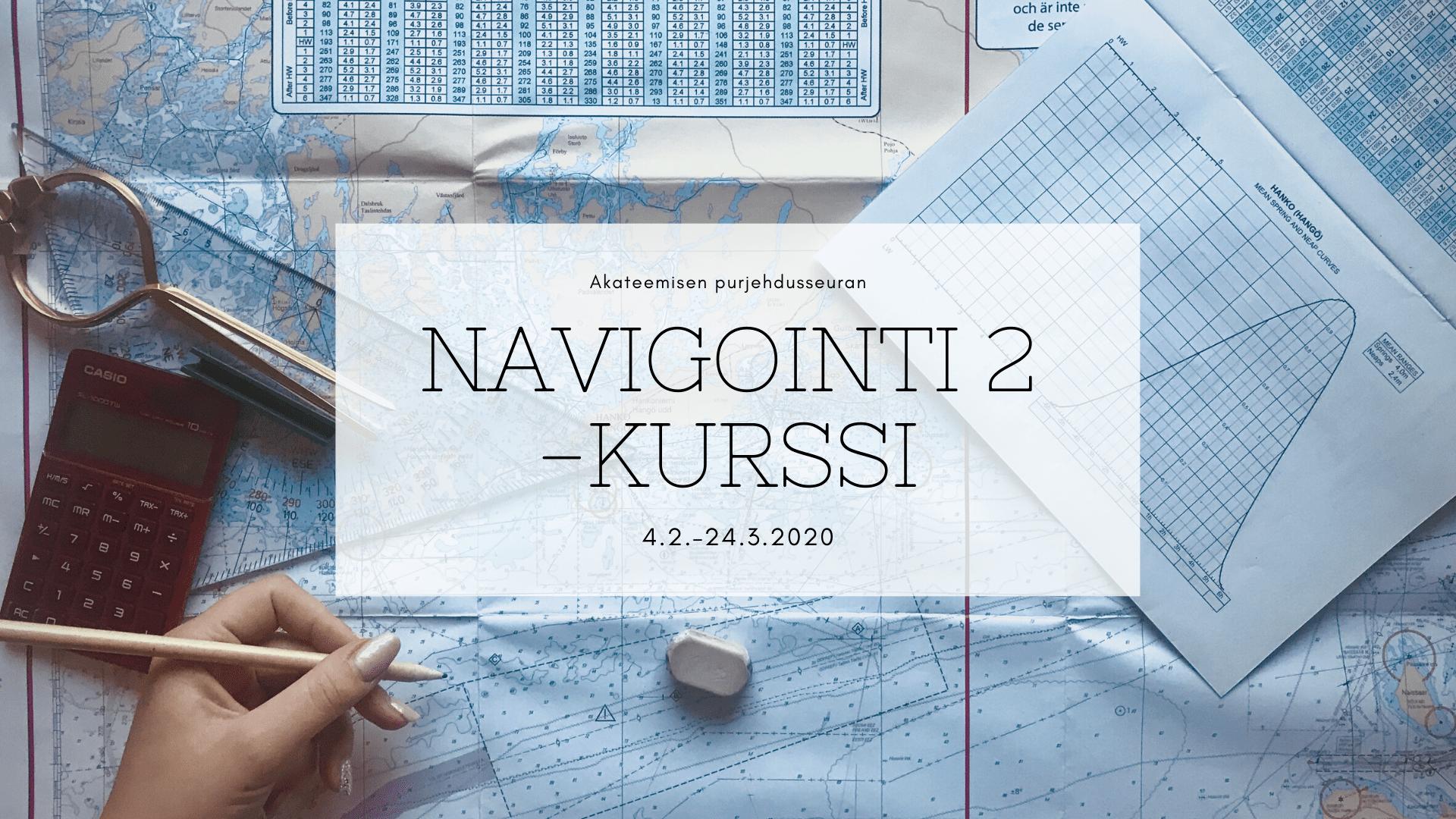 Navigointi 2 -kurssi alkaa 4.2.